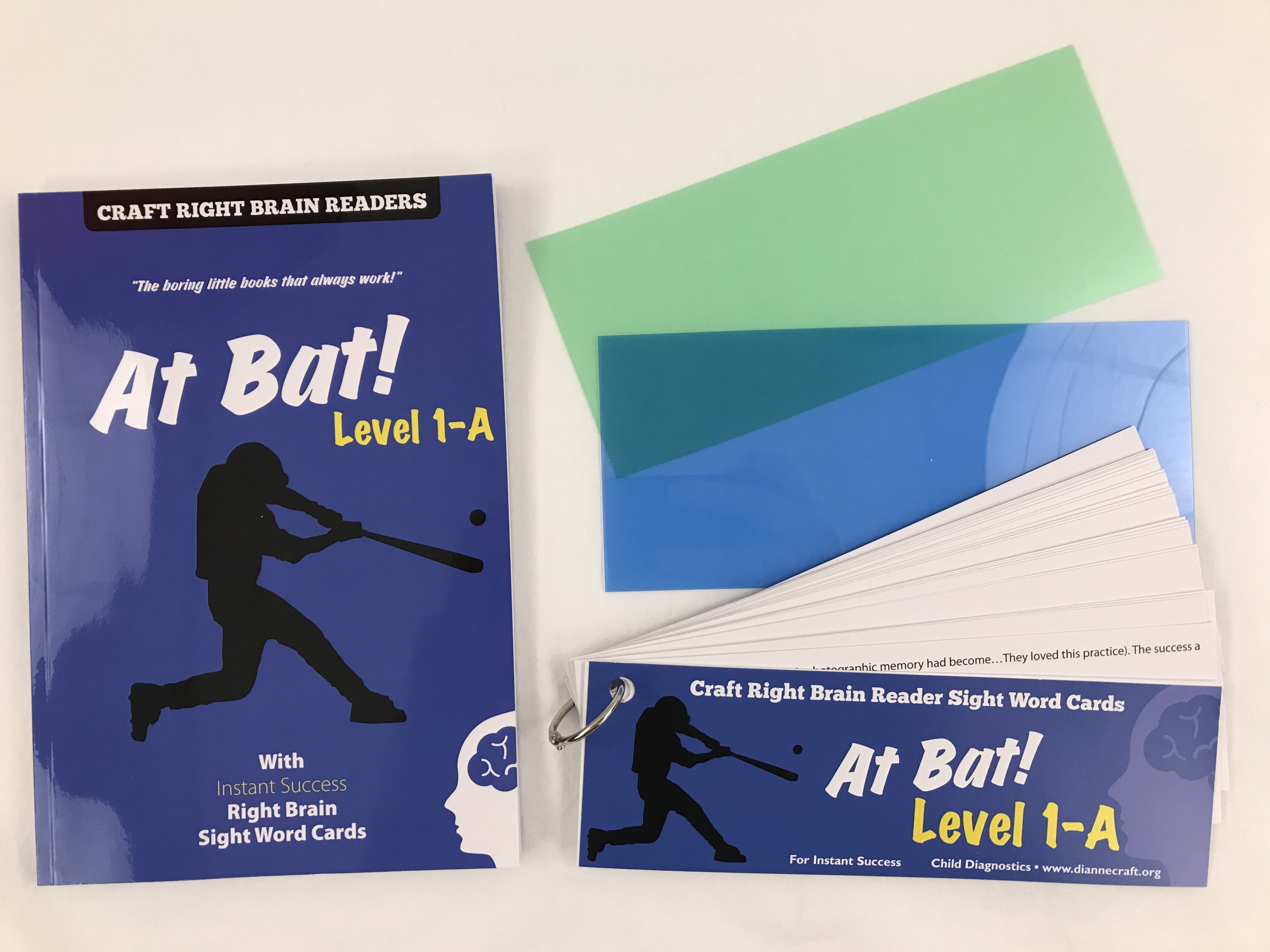 """At BAt"" Level 1A Craft Right Brain Student Reader"