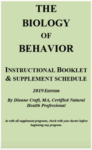 Biology of Behavior CD Set Booklet
