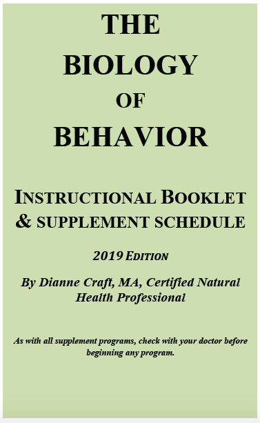 Biology of Behavior CD Set Booklet