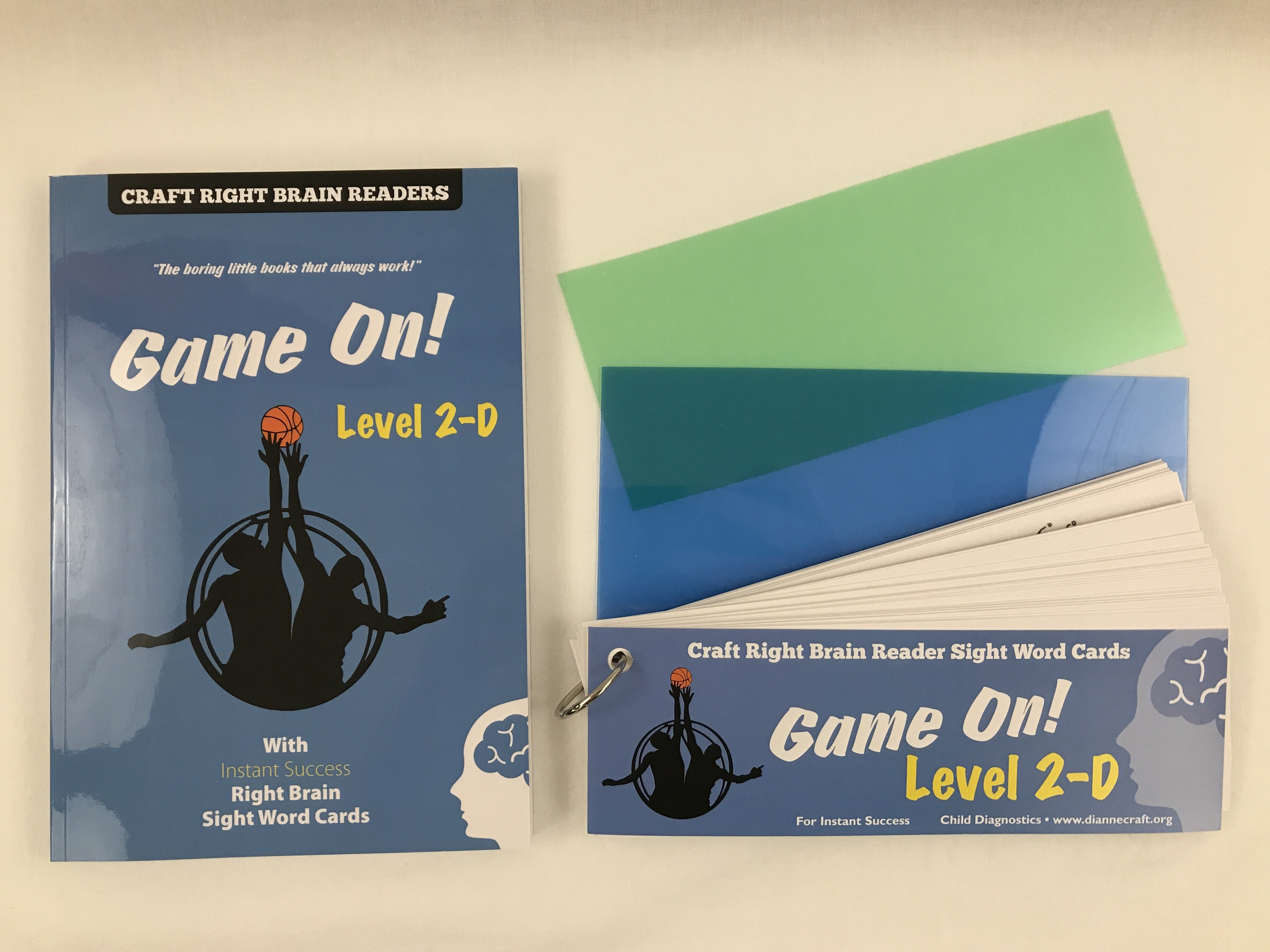 """Game On"" Level 2D Craft Right Brain Student Reader"