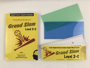 """Grand Slam"" Level 2C Craft Right Brain Student Reader"