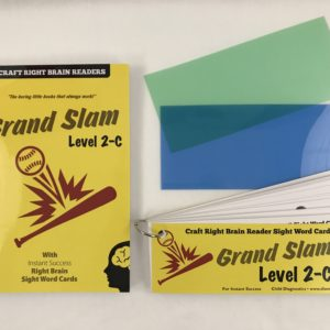 """Grand Slam"" Level 2C Craft Right Brain Student Reader"