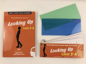 """Looking Up"" 2A Craft Right Brain Student Reader"