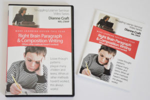 Right Brain Paragraph and Composition Writing DVD