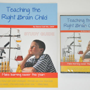 Teaching the Right Brain Child DVD & Study Guide