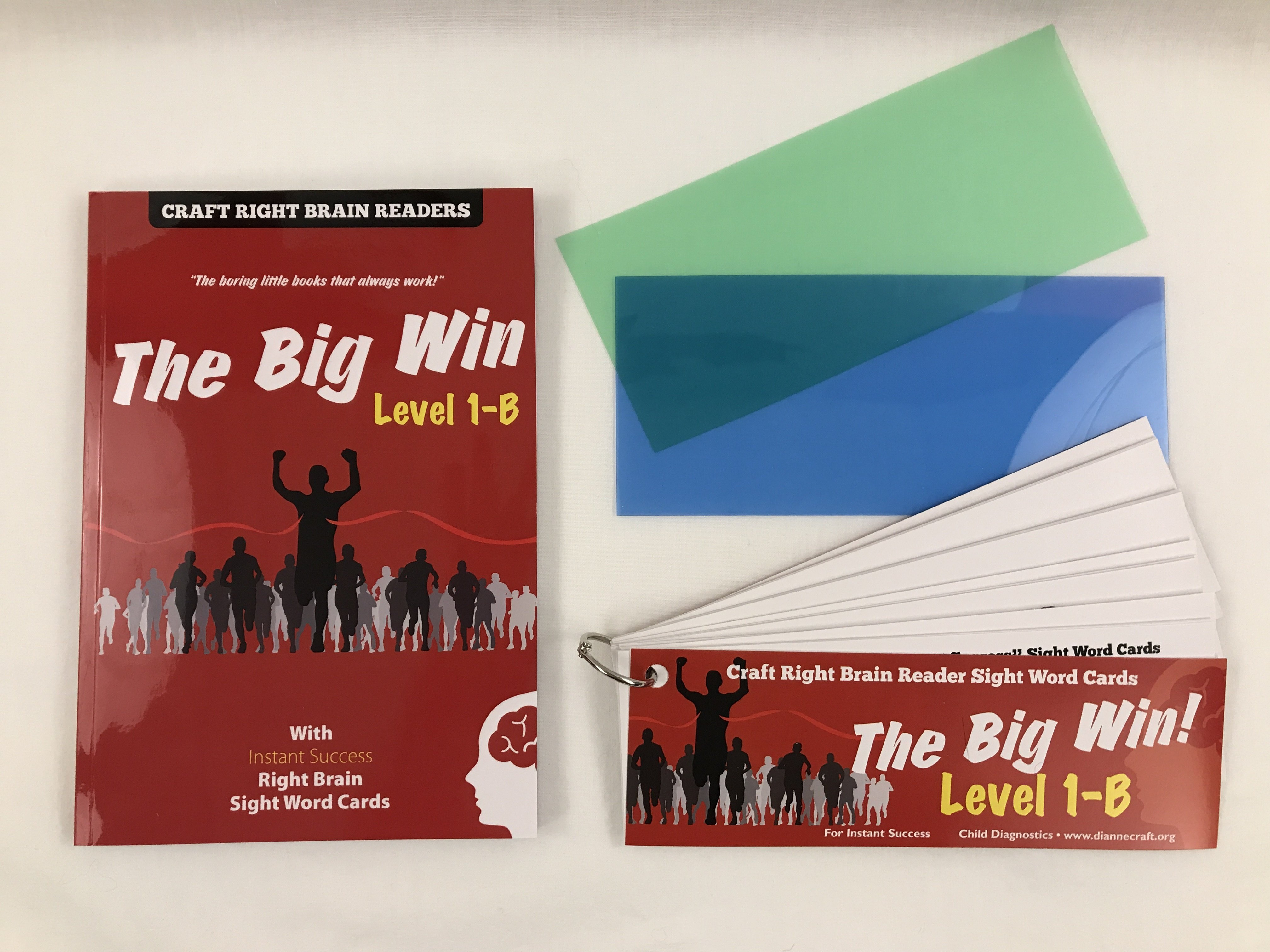 """The Big Win"" Level 1B Craft Right Brain Student Reader"