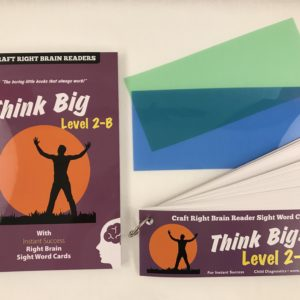 """Think Big"" Level 2B Craft Right Brain Student Reader"